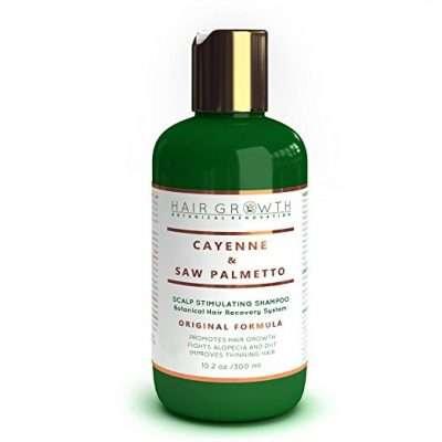 Hair Growth Cayenne and Saw Palmetto Shampoo