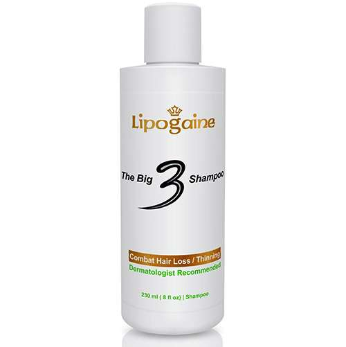 Lipogaine Big 3 Hair Loss Shampoo Reviews