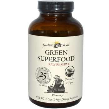 Amazing Grass Green Superfood Powdered Greens Supplement