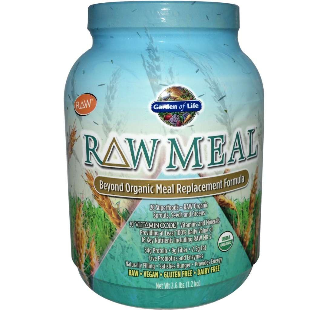 Garden of Life Raw Meal powder meal replacement