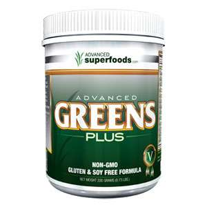 Advanced Greens Plus Organic Greens Powder