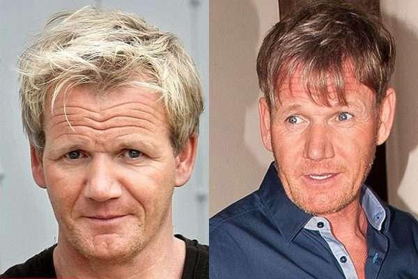 Gordon Ramsay before and after