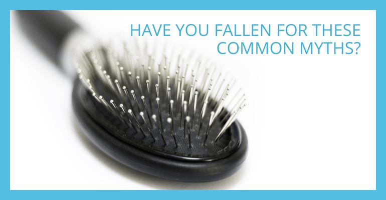 Common hair loss myths