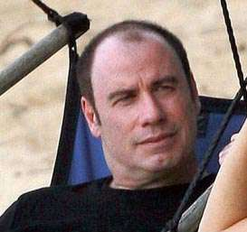 John Travolta bald