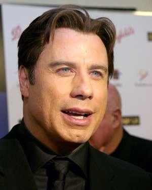 John Travolta wearing wig
