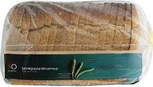 Organic stone ground bread