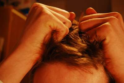How does stress causes hair loss