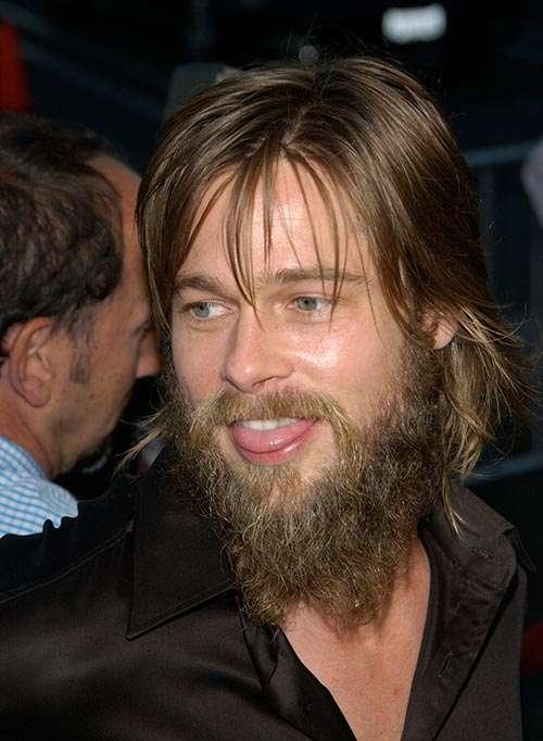 Brad Pitt Long Goatee