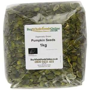 Organic pumpkin seeds