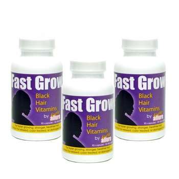 Fast Grow African American Hair Vitamins for black people