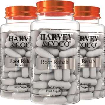 Harvey and Coco Root Rehab hair growth supplement