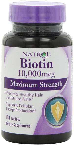 Natrol Biotin Maximum Strength hair vitamins