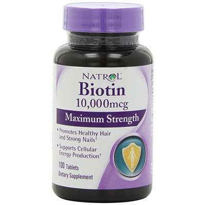Natrol biotin for healthy hair