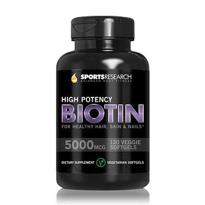 Super potency biotin softgels