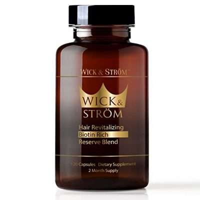 Wick and Strom Hair Loss Supplement