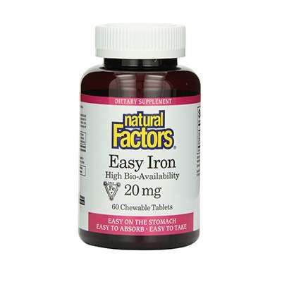 High bio-availability iron supplement