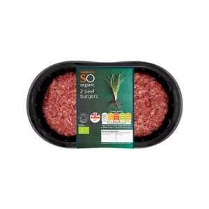 Organic beef food high in iron