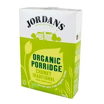 Organic porridge oats