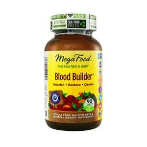 Slow release vegetable based iron supplement