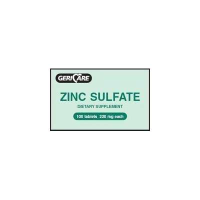 Zinc sulfate supplement