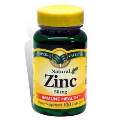 Zinc supplement for hair loss