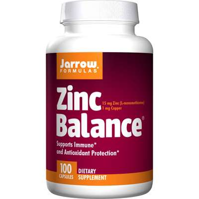 Jarrow zinc supplement