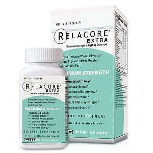 Relacore stress reduction reduce cortisol supplement