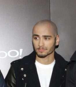 Zayn Malik bald