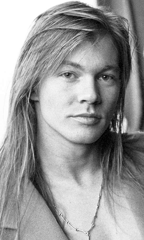 axl rose best rock star hair styles