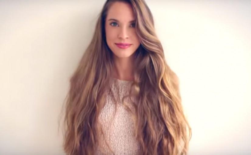 Long super healthy hair