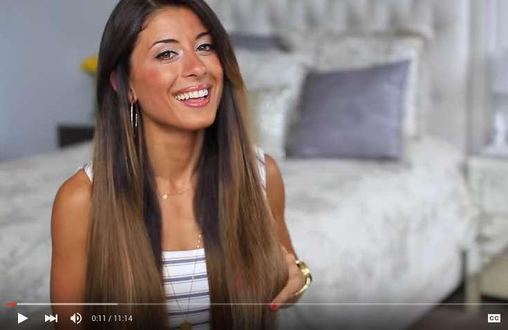 Perfect shiny straight hair tutorial