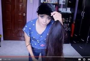 Fast hair growth using inversion method