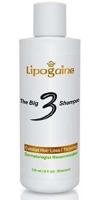 Lipogaine ketoconazole shampoo