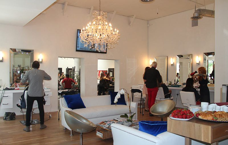 Fred Segal salon LA