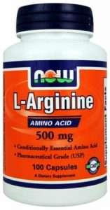 Arginine supplement