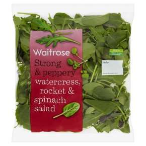 watercress rocket spinach for hair