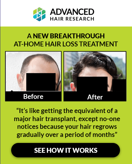 Breakthrough hair loss treatment. See how it works