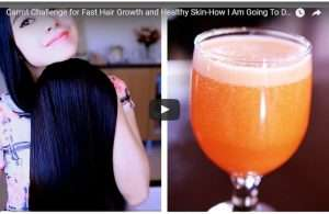 Carrot juice to make your hair grow