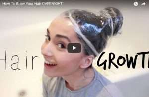 how to make your hair grow overnight