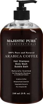 Majestic Coffee hair loss shampoo