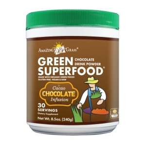 Amazing Grass Chocolate Superfood Drink