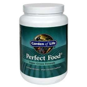 Garden of Life Perfect Food Organic Greens Supplement