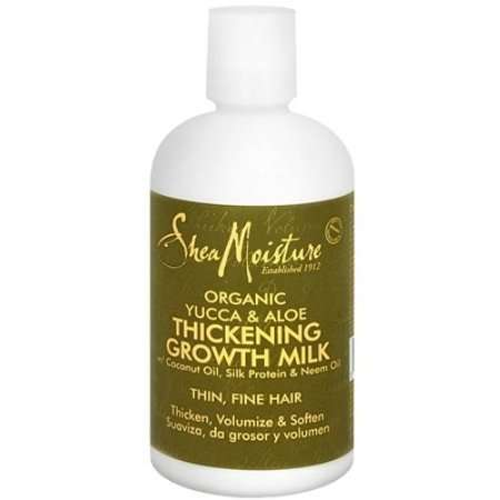 Shea Moisture Organic Yucca & Aloe Thickening Growth Milk Review