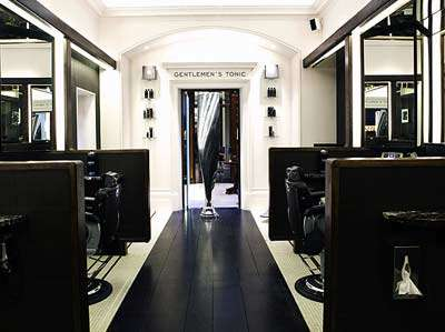 Gentlemens Tonic mens hair dresser barber London