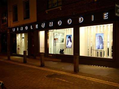 Windle and Moodie hair salon in London