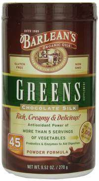 Barleans Greens Chocolate greens superfood powder
