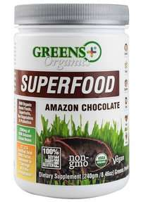 Greens Plus Superfood Chocolate flavor