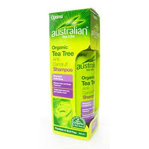 Optima Australian Organic Tea Tree Oil Anti Dandruff Shampoo