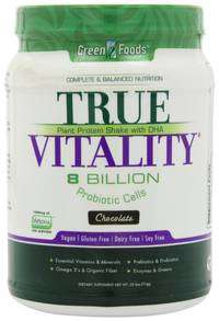 True Vitality organic green drink