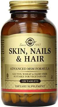 MSM hair skin and nails supplement